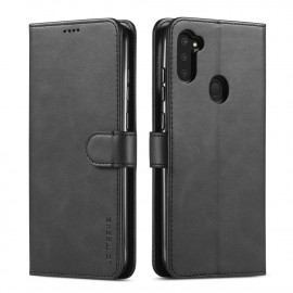 Luxe Book Case Samsung Galaxy M11 / A11 Hoesje - Zwart