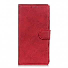 Luxe Book Case Samsung Galaxy A42 Hoesje - Rood