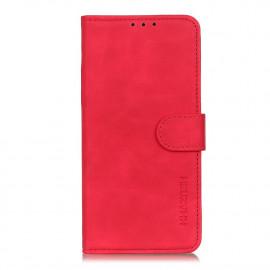 Book Case Motorola Moto E7 Plus Hoesje - Rood