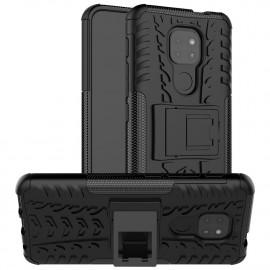 Rugged Kickstand Motorola Moto G9 Play Hoesje - Zwart