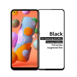 Full-Cover Tempered Glass Samsung Galaxy M11 / A11 - Zwart