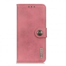 Classic Book Case Samsung Galaxy A42 Hoesje - Roze