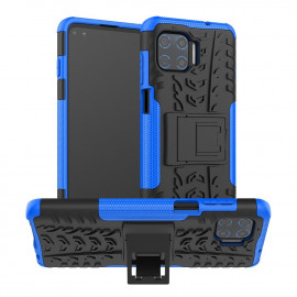 Rugged Kickstand Motorola Moto G 5G Plus Hoesje - Blauw