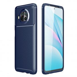 Carbon Fiber TPU Case Xiaomi Mi 10T Lite 5G Hoesje - Blauw