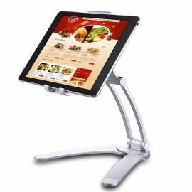Universele Tablethouder voor Tablet en iPad - Zilver