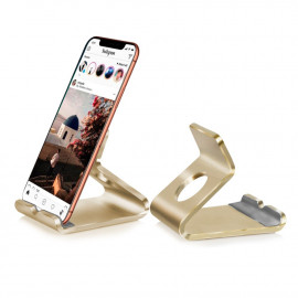 "Standaard voor Smartphone en 7"" Tablet - Goud"