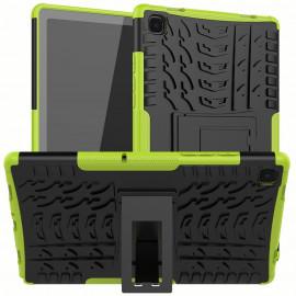 Rugged Kickstand Samsung Galaxy Tab A7 (2020) Hoesje - Groen