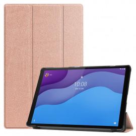Tri-Fold Book Case Lenovo Tab M10 HD Gen 2 (TB-X306F) Hoesje - Rose Gold