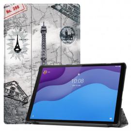 Tri-Fold Book Case Lenovo Tab M10 HD Gen 2 (TB-X306F) Hoesje - Eiffeltoren