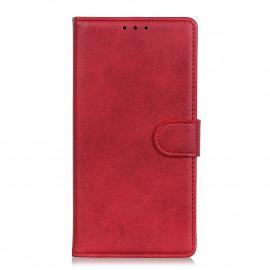 Luxe Book Case Motorola Moto E7 Hoesje - Rood