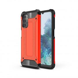 Armor Hybrid Samsung Galaxy A32 Hoesje - Rood