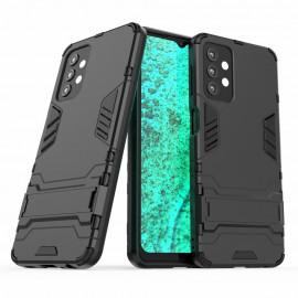 Armor Kickstand Samsung Galaxy A32 Hoesje - Zwart