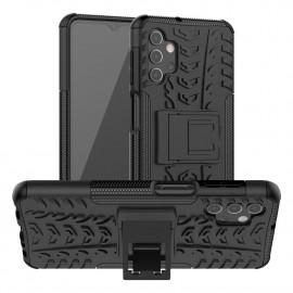 Rugged Kickstand Samsung Galaxy A32 Hoesje - Zwart