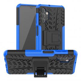 Rugged Kickstand Samsung Galaxy A32 Hoesje - Blauw