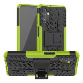 Rugged Kickstand Samsung Galaxy A32 Hoesje - Groen