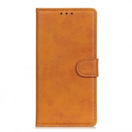 Luxe Book Case Xiaomi Redmi Note 9T Hoesje - Bruin