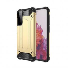 Armor Hybrid Samsung Galaxy S21 Plus Hoesje - Goud