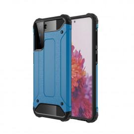Armor Hybrid Samsung Galaxy S21 Plus Hoesje - Lichtblauw