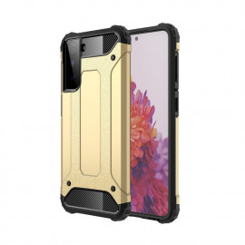 Armor Hybrid Samsung Galaxy S21 Hoesje - Goud