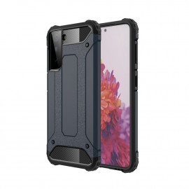 Armor Hybrid Samsung Galaxy S21 Hoesje - Donkerblauw