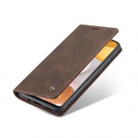 CaseMe Book Case Samsung Galaxy S21 Plus Hoesje - Donkerbruin