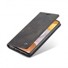 CaseMe Book Case Samsung Galaxy S21 Ultra Hoesje - Zwart