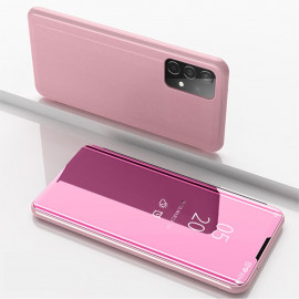 Mirror View Case Samsung Galaxy A52 Hoesje - Rose Gold