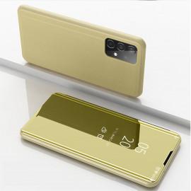 Mirror View Case Samsung Galaxy A52 Hoesje - Goud