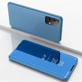 Mirror View Case Samsung Galaxy A52 Hoesje - Blauw