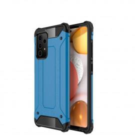Armor Hybrid Samsung Galaxy A52 Hoesje - Lichtblauw