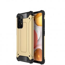 Armor Hybrid Samsung Galaxy A72 Hoesje - Goud