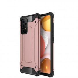 Armor Hybrid Samsung Galaxy A72 Hoesje - Rose Gold