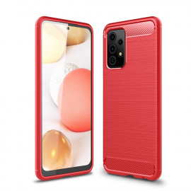 Armor Brushed TPU Samsung Galaxy A52 / A52s Hoesje - Rood
