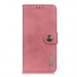 Classic Book Case Samsung Galaxy A52 Hoesje - Pink