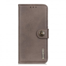 Classic Book Case Samsung Galaxy A52 / A52s Hoesje - Grijs