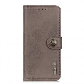 Classic Book Case Samsung Galaxy A52 Hoesje - Grijs
