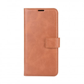 Luxe Book Case Motorola Moto G9 Power Hoesje - Bruin