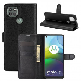 Book Case Motorola Moto G9 Power Hoesje - Zwart