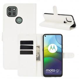 Book Case Motorola Moto G9 Power Hoesje - Wit