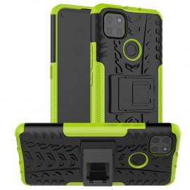 Rugged Kickstand Motorola Moto G9 Power Hoesje - Groen