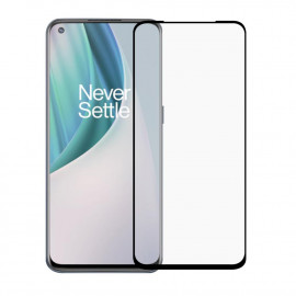 Full-Cover Tempered Glass OnePlus Nord N10 - Zwart