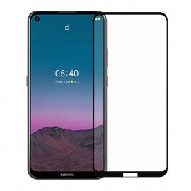 Full-Cover Tempered Glass Nokia 5.4 - Zwart