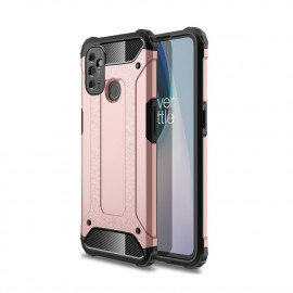 Armor Hybrid OnePlus Nord N100 Hoesje - Rose Gold