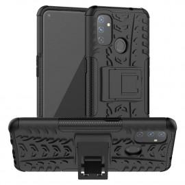Rugged Kickstand OnePlus Nord N100 Hoesje - Zwart