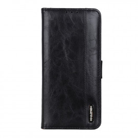 Luxe Book Case Samsung Galaxy A72 Hoesje - Zwart