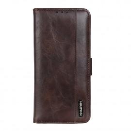 Luxe Book Case Samsung Galaxy A72 Hoesje - Bruin