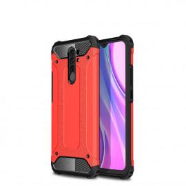 Armor Hybrid Xiaomi Redmi 9 Hoesje - Rood