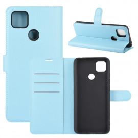 Book Case Xiaomi Redmi 9C Hoesje - Lichtblauw