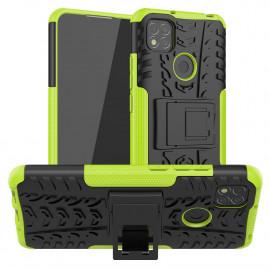 Rugged Kickstand Xiaomi Redmi 9C Hoesje - Groen