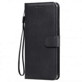 Book Case Xiaomi Redmi 9 Hoesje - Zwart